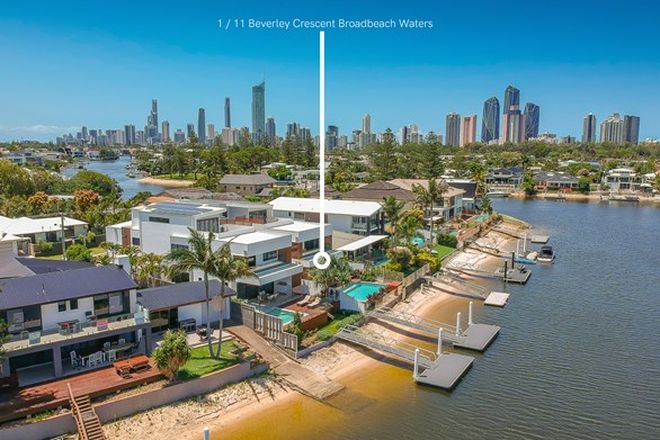 Picture of 1/11 Beverley Crescent, BROADBEACH WATERS QLD 4218