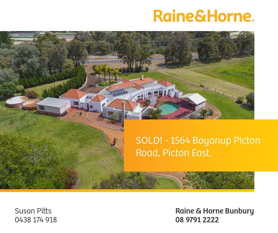 1564 BOYANUP-PICTON ROAD, Picton East WA 6229, Image 0