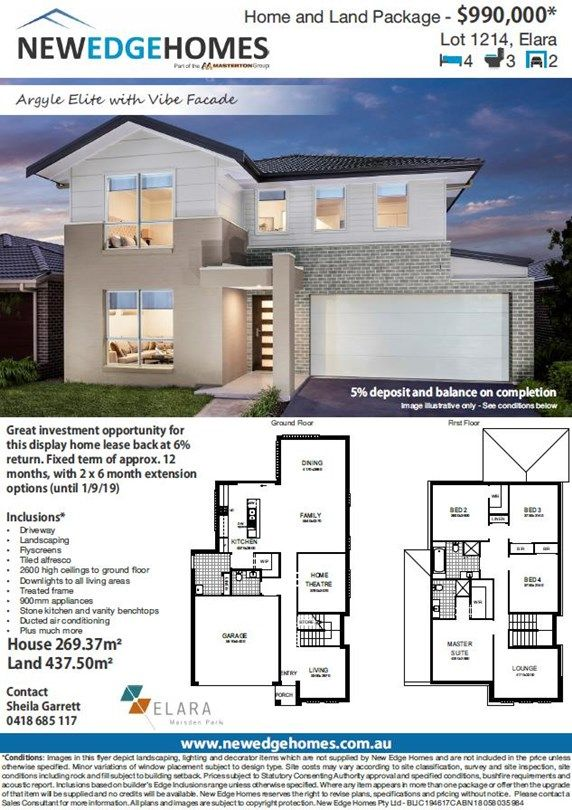 Lot 1214 Proposed Road (Elara), Marsden Park NSW 2765, Image 1
