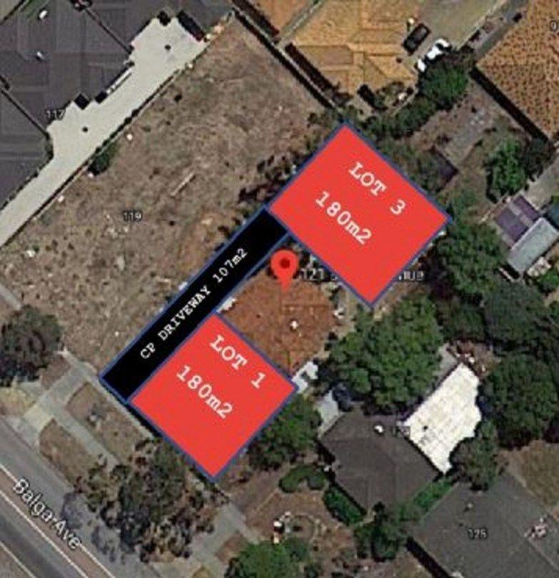 Proposed Lot 1&3/121 Balga Avenue, Balga WA 6061, Image 0