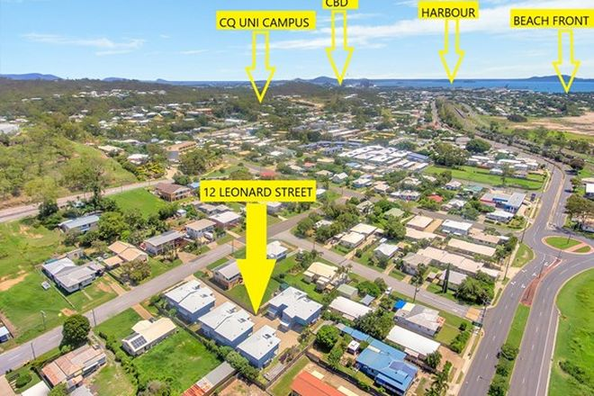 Picture of 12 LEONARD STREET, SOUTH GLADSTONE QLD 4680