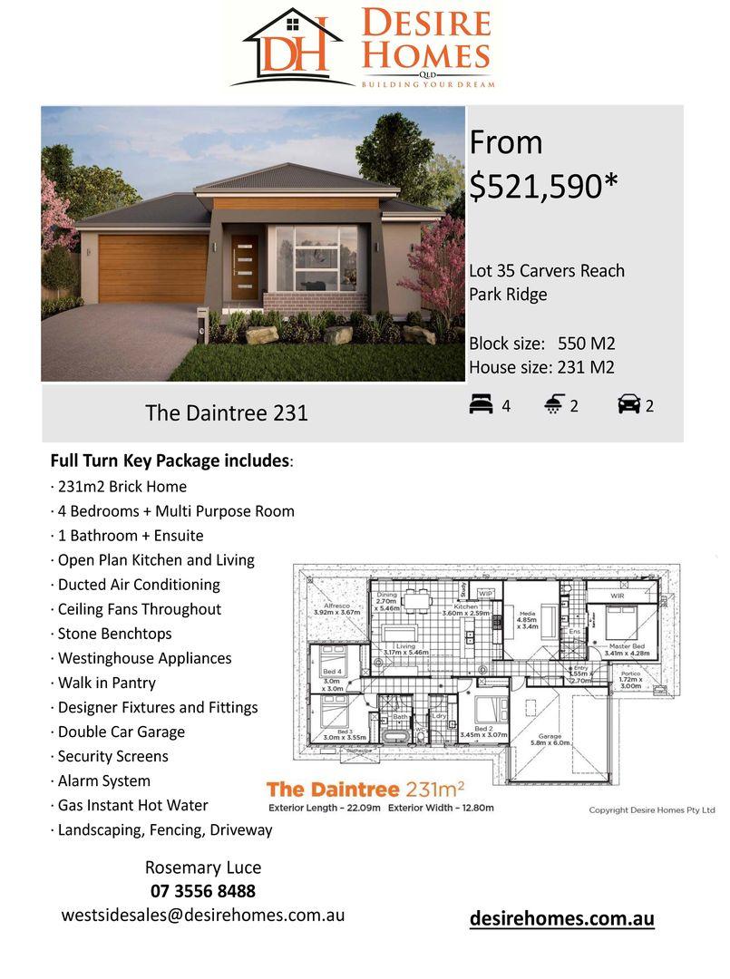 Lot 35 Macadamia Circuit, Park Ridge QLD 4125, Image 1