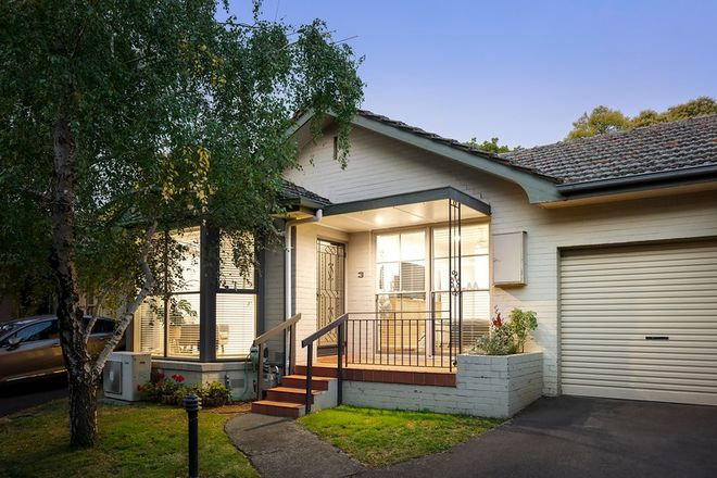 Picture of 3/283 Barkers Road, KEW VIC 3101