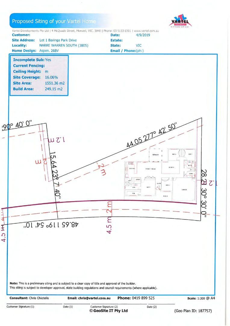 1 Baringa Park Drive, Narre Warren South VIC 3805, Image 2