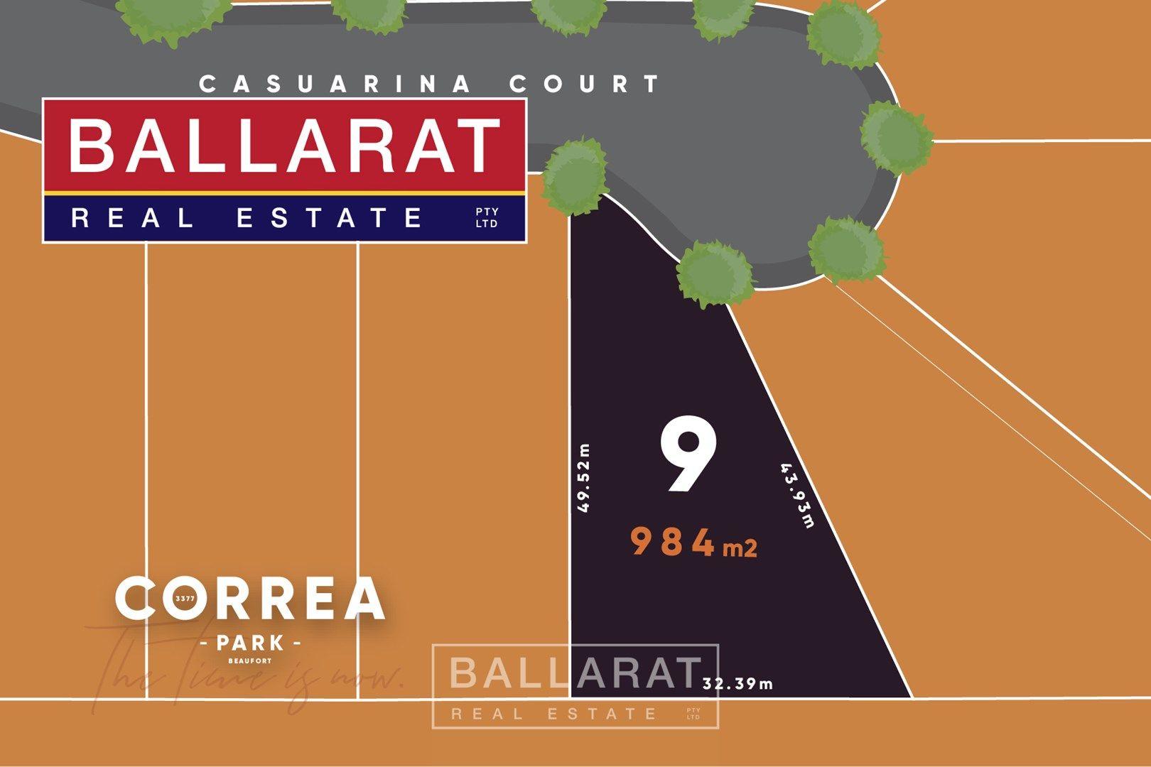 Lot 9 Casuarina Court, Beaufort VIC 3373, Image 0