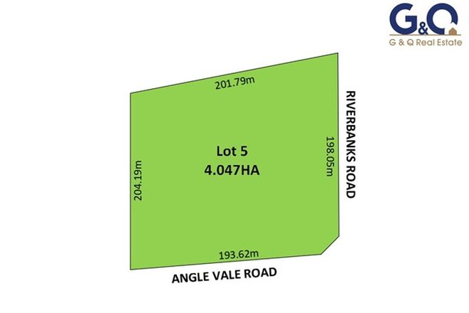 Picture of Lot 5 Riverbanks Road, ANGLE VALE SA 5117