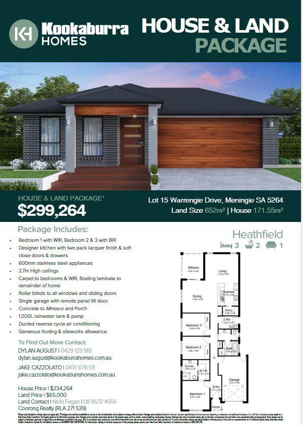 Lot 15 Warrengie Drive, Meningie SA 5264, Image 2