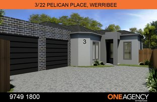 Picture of 3/22 Pelican Place, Werribee VIC 3030