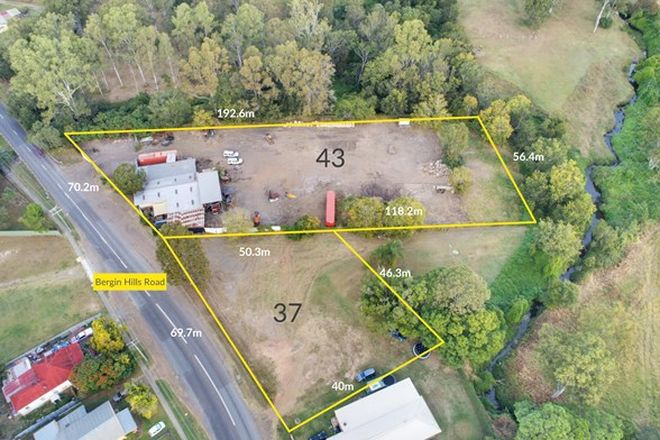 Picture of 37 & 43 Bergins Hill Road, BUNDAMBA QLD 4304