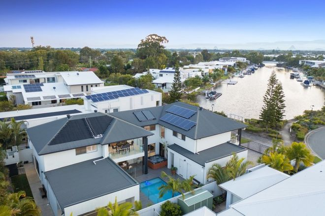 Picture of 37 Whitehaven Way, PELICAN WATERS QLD 4551