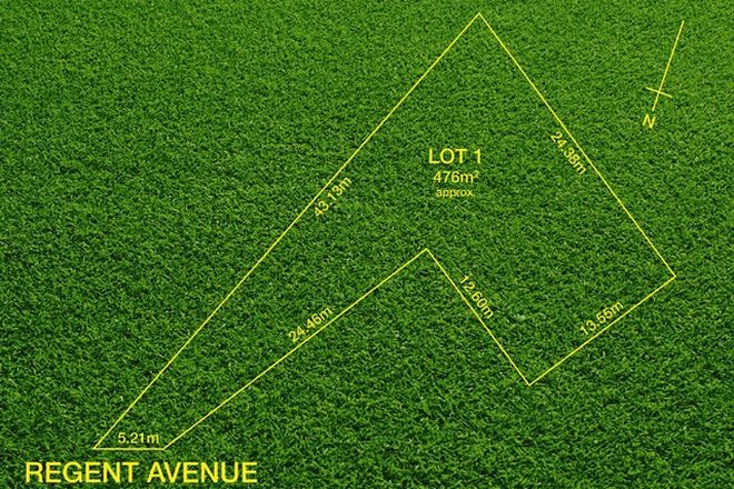 Picture of Lot 1, 9 Regent Avenue, POORAKA SA 5095