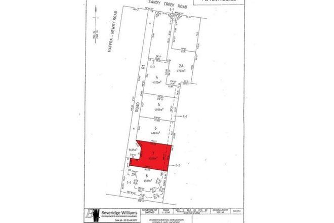 Picture of Lot 7 Sandy Creek Road, MAFFRA VIC 3860