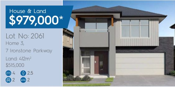 Lot 2061 Home 3 7 Ironstone Parkway, Box Hill NSW 2765, Image 0