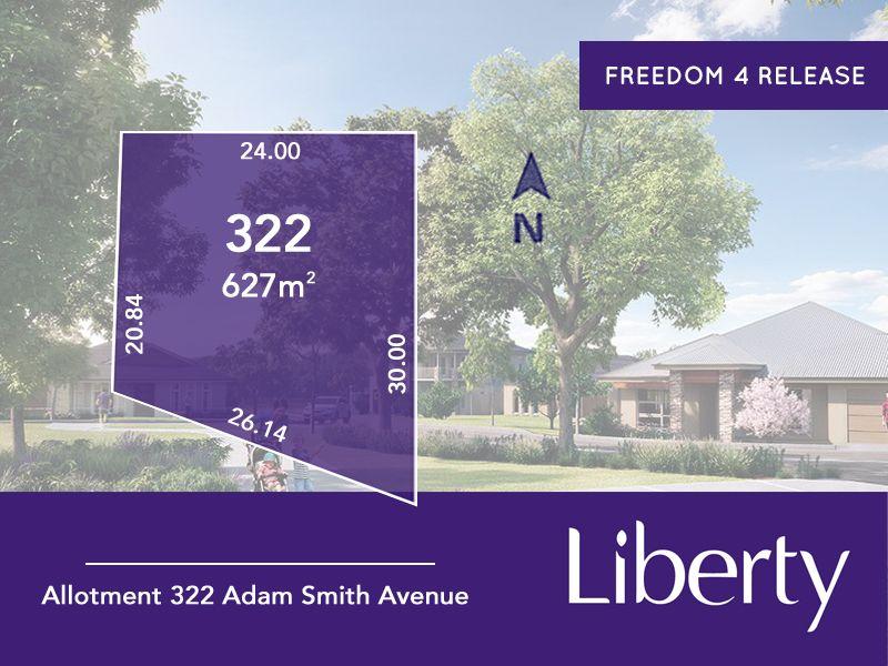 Lot 322 Adam Smith Avenue, Two Wells SA 5501, Image 0