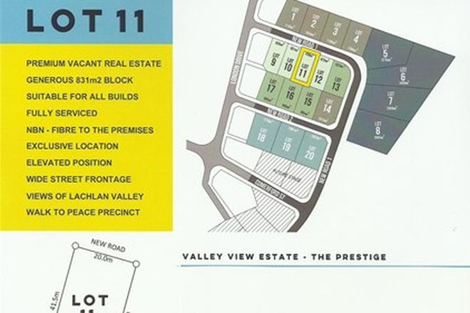 Picture of LOT 11 VALLEY VIEW ESTATE, COWRA NSW 2794