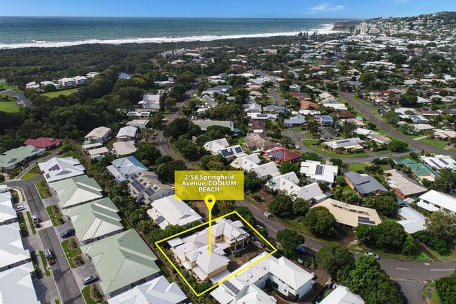 Picture of 2/58 Springfield Avenue, COOLUM BEACH QLD 4573