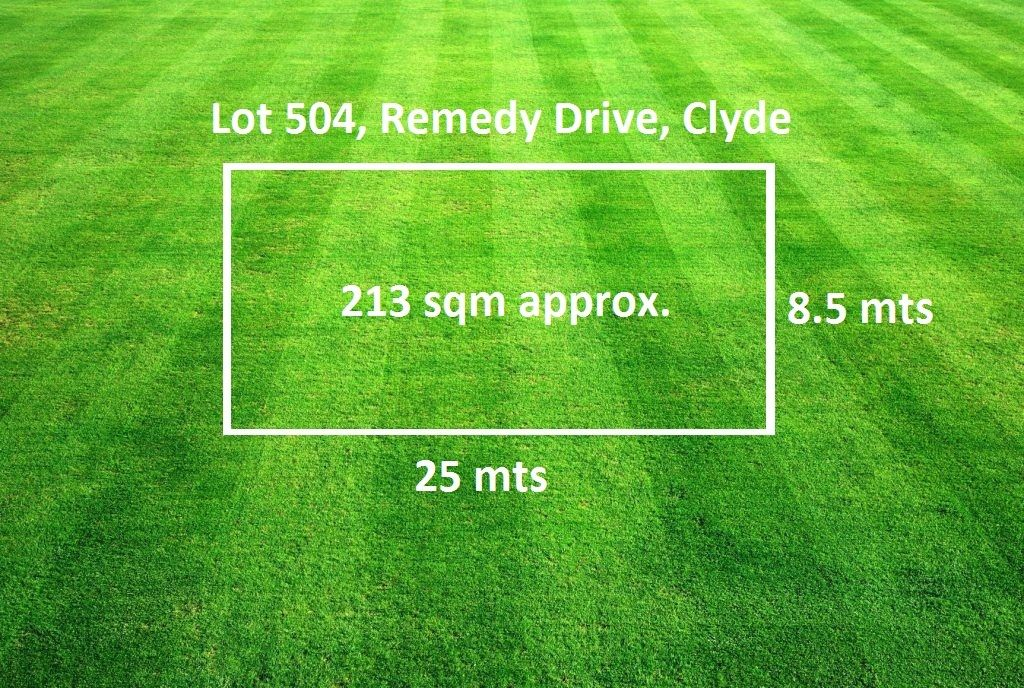 Lot 504 Remedy Drive, Clyde VIC 3978, Image 0