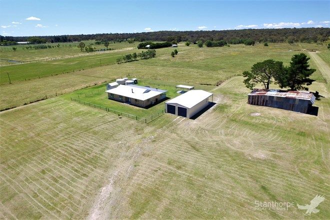 Picture of 284 Pozieres Road, FLEURBAIX QLD 4375