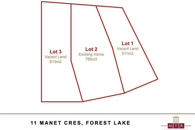 Picture of Lot 1 & 3/11 Manet Crescent, FOREST LAKE QLD 4078