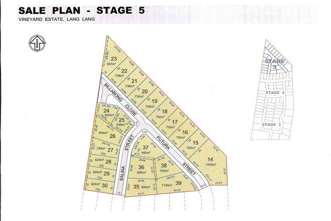 Picture of Lot 14 Futura Street, LANG LANG VIC 3984