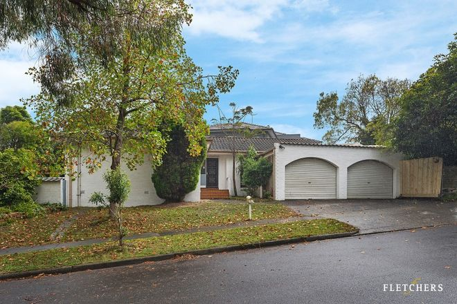 Picture of 14 Bareena Grove, DONCASTER EAST VIC 3109
