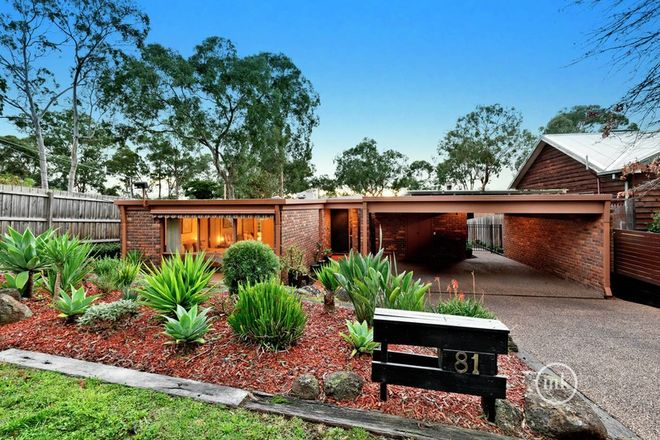 Picture of 81 Buena Vista Drive, MONTMORENCY VIC 3094