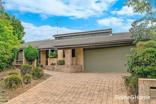 Picture of 3 Flamingo Court, BELLA VISTA NSW 2153