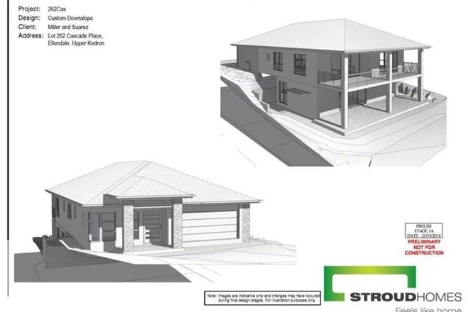 Picture of Lot 262 Cascade Place  ELLENDALE ESTATE, UPPER KEDRON QLD 4055