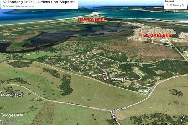 Picture of 82 Toonang Dr, TEA GARDENS NSW 2324