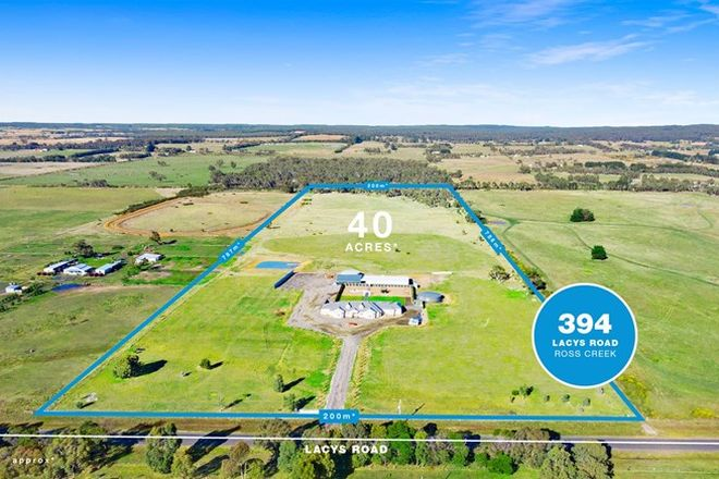 Picture of 394 Lacys Road, ROSS CREEK VIC 3351