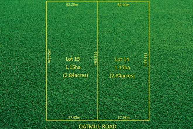 Picture of Lots 14 & 15 Oatmill Road, BORDERTOWN SA 5268