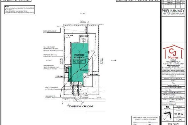 Picture of Lot 209 Edinburgh Crescent, PALLARA QLD 4110