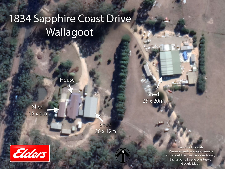 1834 SAPPHIRE COAST DRIVE, Wallagoot NSW 2550, Image 0