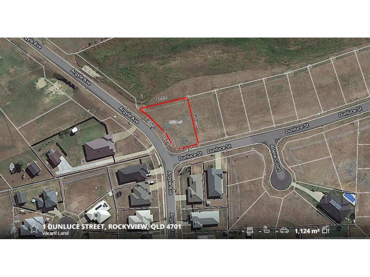 Lot 1 Dunluce Street, Parkhurst QLD 4702, Image 2