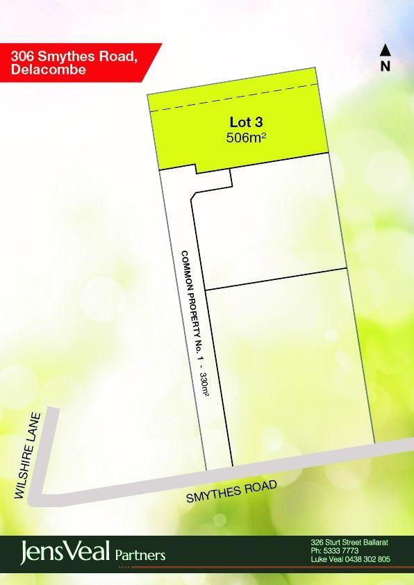 Lot 3/306 Smythes Road, Delacombe VIC 3356, Image 0