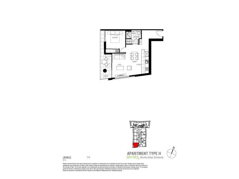 1107/815 Bourke Street, Docklands VIC 3008, Image 4