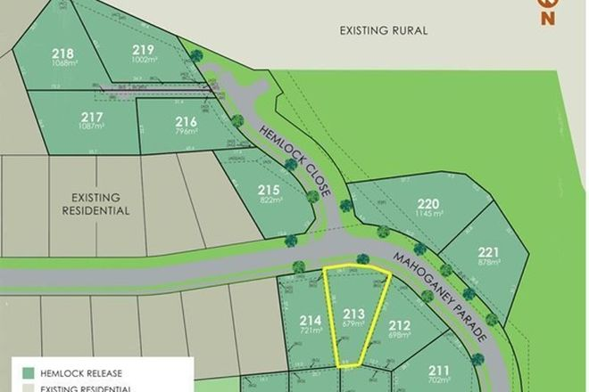 Picture of Lot 213 Eastwood Estate, GOONELLABAH NSW 2480