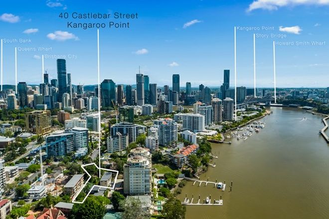 Picture of 40 Castlebar Street, KANGAROO POINT QLD 4169
