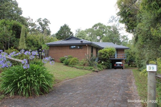 Picture of 39 Westlands Road, EMERALD VIC 3782