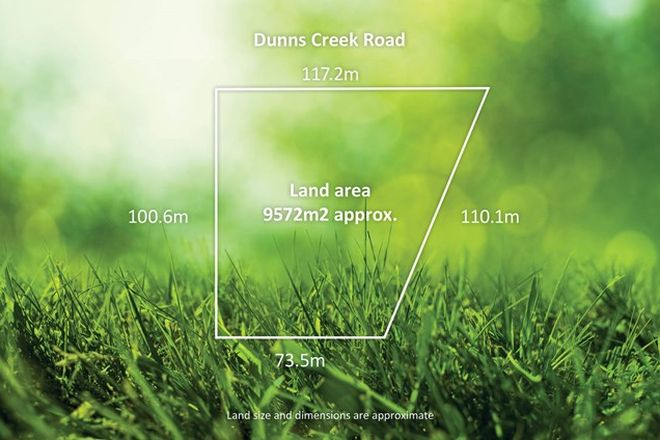 Picture of 585 Dunns Creek Road, RED HILL VIC 3937