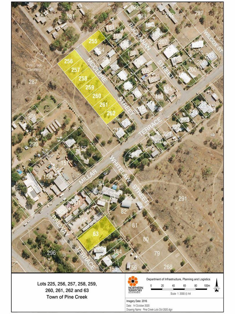 lot 259 McClure Street, Pine Creek NT 0847, Image 0