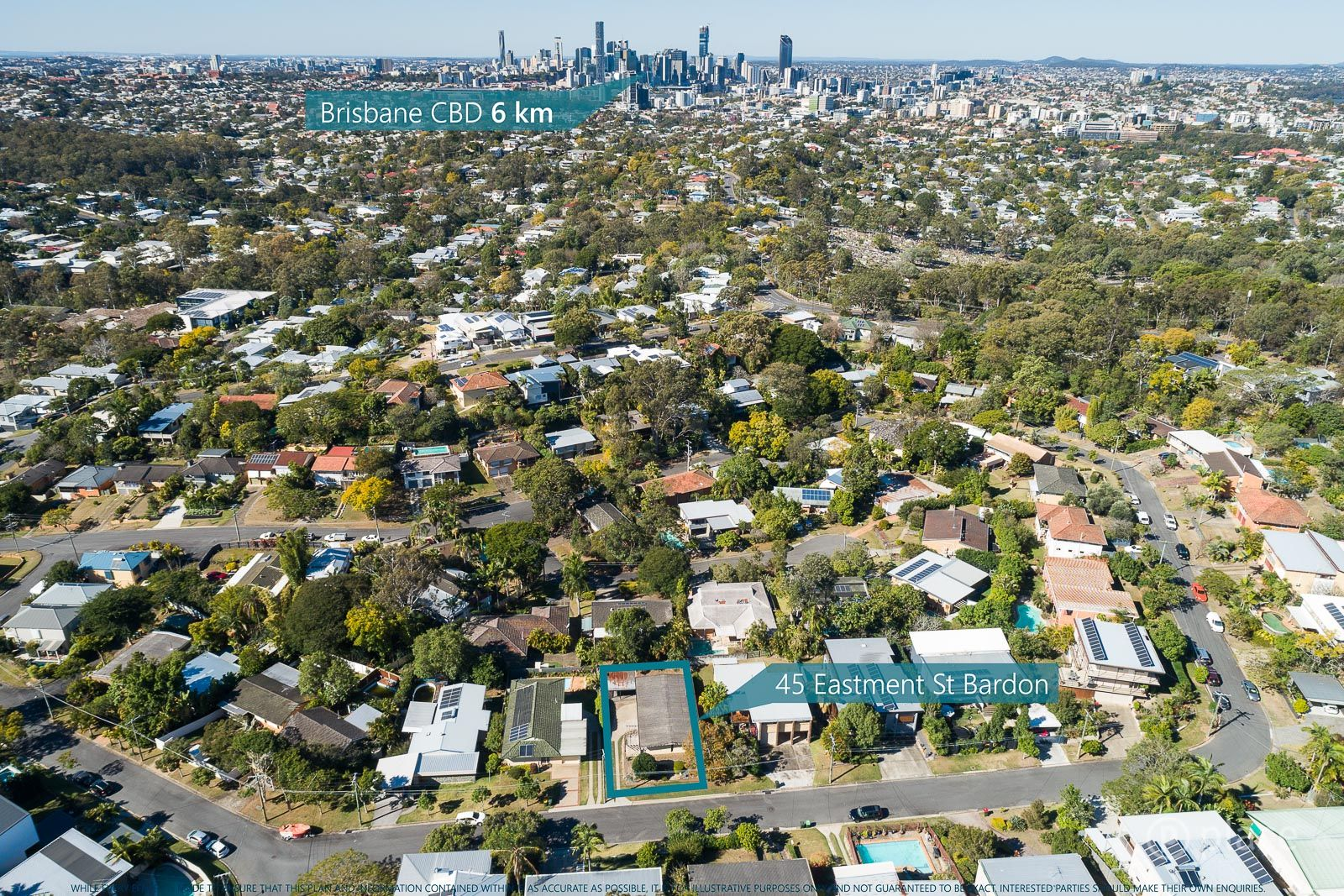 45 Eastment Street, Bardon QLD 4065, Image 1