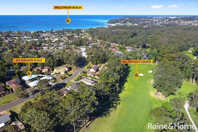 Picture of 3/3 Augusta Place, MOLLYMOOK BEACH NSW 2539