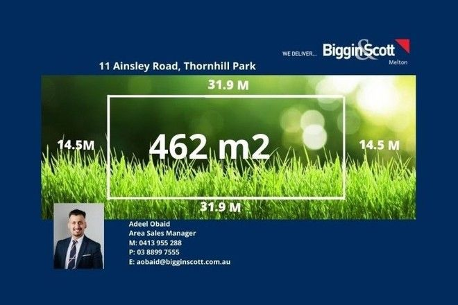 Picture of 11 Ainsley Road, THORNHILL PARK VIC 3335