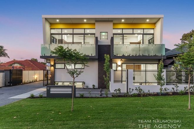 Picture of 1-7/12 Anderson Street, MOUNT HAWTHORN WA 6016