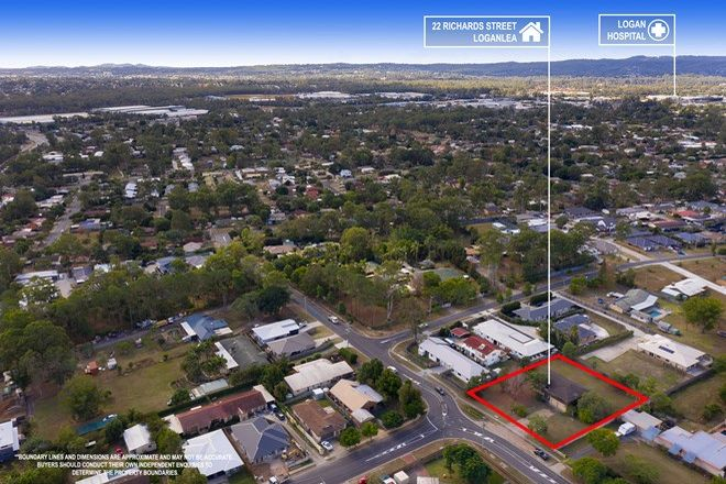 Picture of 22 Richards Street, LOGANLEA QLD 4131