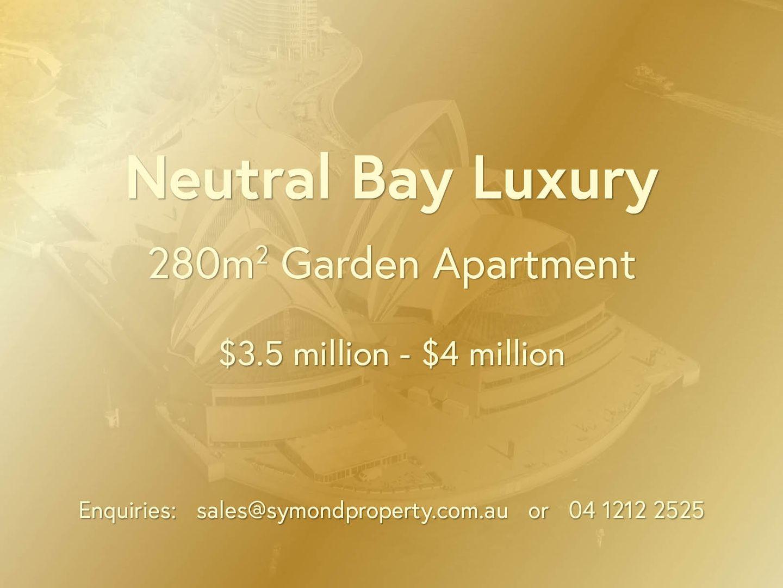Neutral Bay NSW 2089, Image 0