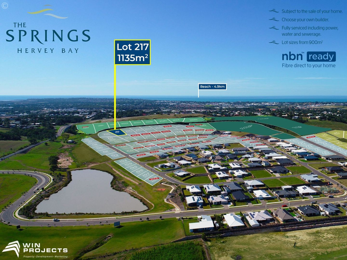 Lot 217 The Springs, Nikenbah QLD 4655, Image 0