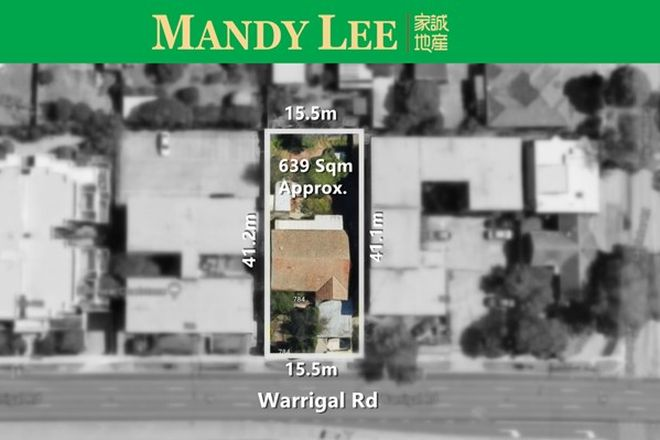 Picture of 784 Warrigal Road, MALVERN EAST VIC 3145