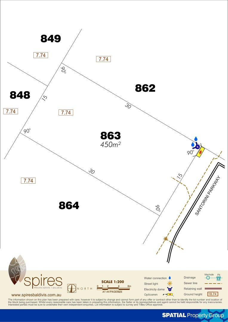 Lot 863 Santorini Parkway, Baldivis WA 6171, Image 1